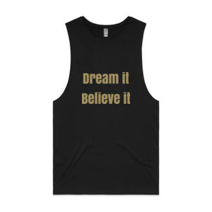 Dream it, believe it Womens Barnard Tank Thumbnail